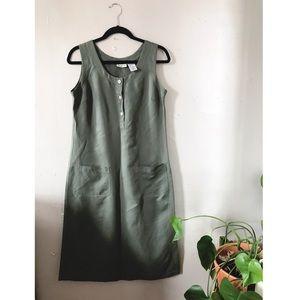 Army Green Jumper Dress
